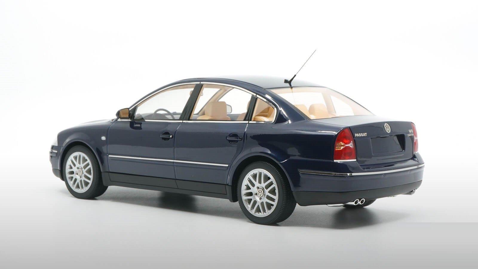 1:18 DNA COLLECTIBLES 2001 Volkswagen Passat W8 dark blue LE 320 pcs IN STOCK !