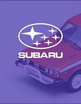 Subaru Modelauto's